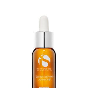 flaske med super serum advanced fra is clinical